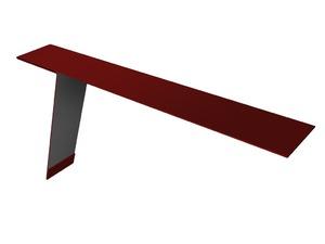 Планка карнизная фальц 130х80, цвет по каталогу RAL и RR