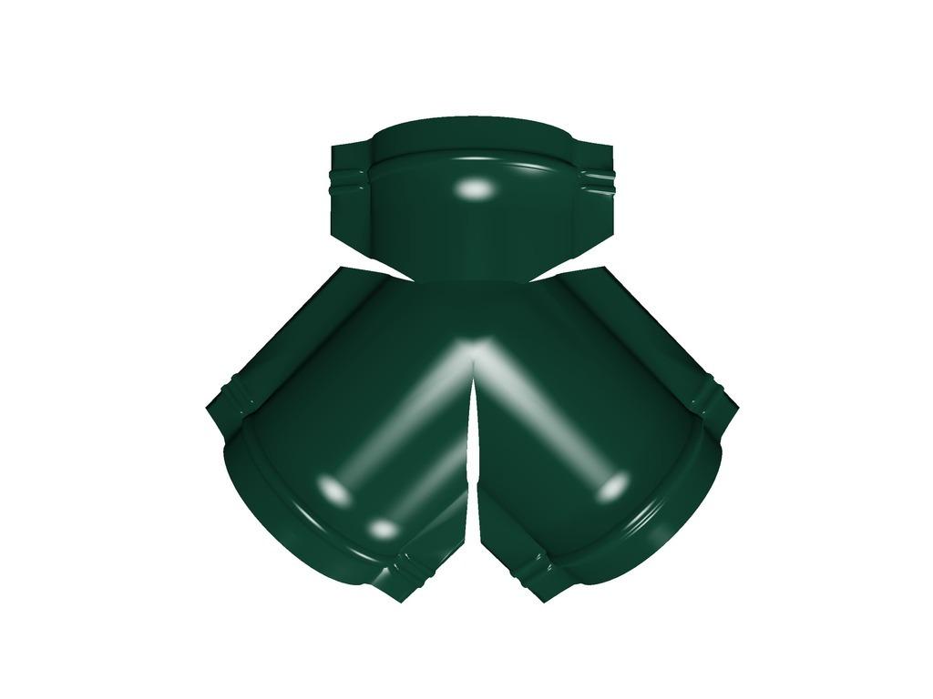 Тройник Y конька полукруглого, цвет по каталогу RAL и RR