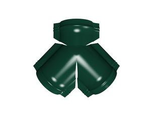 Тройник Y малого конька полукруглого, цвет по каталогу RAL и RR
