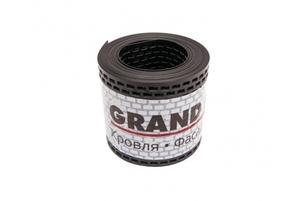 Лента вентиляционная ПВХ GRAND LINE черная 100х5000