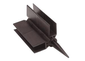 Пластиковый Шарнир угловой для грядки ДПК 150 мм