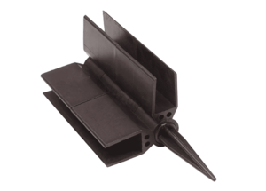 Пластиковый Шарнир угловой для грядки ДПК 225 мм