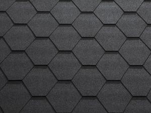 Гибкая черепица Катепал/Katepal Classic-KL 3,0 м2 Чёрный