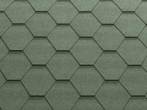 Гибкая черепица Катепал/Katepal Classic-KL 3,0 м2 Зеленый