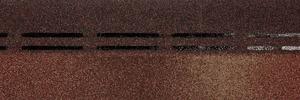 Коньково-карнизная черепица Деке / Docke Premium, цвет Амаретто