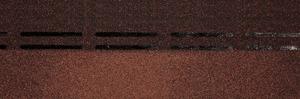 Коньково-карнизная черепица Деке / Docke Premium, цвет Кофе