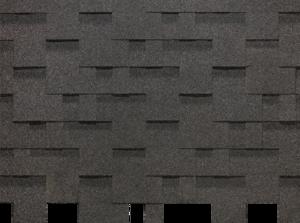 Гибкая черепица Деке / Docke Pie Basic, коллекция Лабиринт, цвет Серый, упаковка 3,0 м2