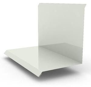 Планка примыкание верхнее к стене фальц 150х130х20, цвет по каталогу RAL и RR