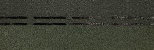 Коньково-карнизная черепица Деке / Docke Standart, цвет Зелёный