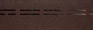Коньково-карнизная черепица Деке / Docke Premium, цвет Имбирь