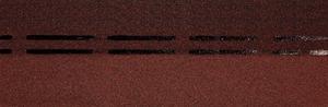 Коньково-карнизная черепица Деке / Docke Premium, цвет Инжир-Клубника