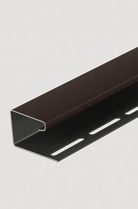 J-профиль 16 мм, Шоколад