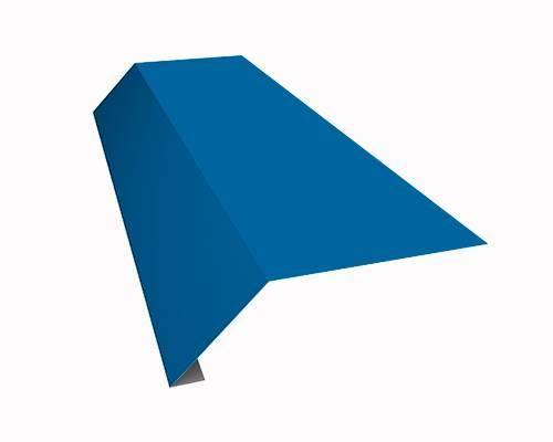 Карнизная планка Docke (Дёке) капельник, 2000мм РЕ Ral 5005 (синий)