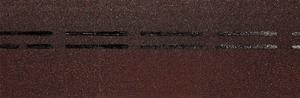 Коньково-карнизная черепица Деке / Docke Premium, цвет Зрелый каштан