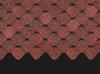 Гибкая черепица Деке / Docke Pie Premium, коллекция Ницца, цвет Клубника, упаковка 2,9 м2