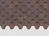 Гибкая черепица Деке / Docke Pie Standart, коллекция Сота, цвет Коричневый, упаковка 3 м2